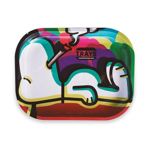Charlie Brown's Snoopy - Awesome Rolling Tray Flower Power Packages