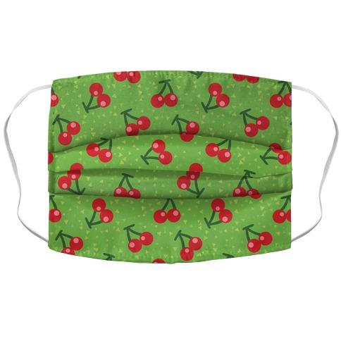 Cherry Pattern Face Mask Cover Flower Power Packages