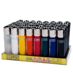 Clipper Assorted Colors Lighters (48 Count)