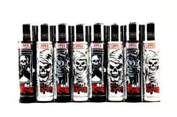 Clipper Lighter Grim Reaper Display (48 Count) Flower Power Packages