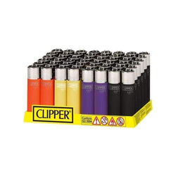 Clipper Mini Soft Touch Assorted Colors Lighter (48 Count)