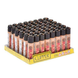 Clipper Raw Lighters (48 Count)