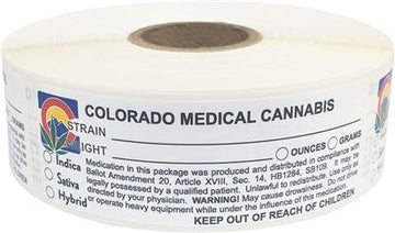 Colorado Medical Cannabis Warning Labels