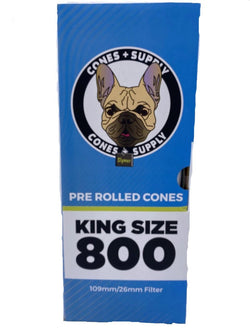 Cones + Supply Classic White King Size Cones 109mm 800 Count