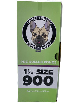 Cones + Supply Organic 1 1/4 Cones 900 Count