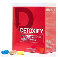 Detoxify Instant Clean Herbal Cleanse Flower Power Packages