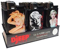 Djeep Lighter Marilyn Monroe (24 Count) Flower Power Packages