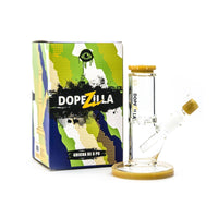 Dopezilla-Cyclops-Water Pipe-8 Inch-1 Count-(Various Colors) Flower Power Packages