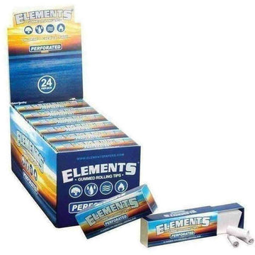 Elements Gummed Perforated Rolling Tips
