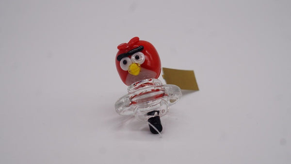 Empire Glassworks Angry Bird Carb Cap Flower Power Packages Default
