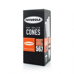Futurola - Party Size Bulk Cones - 140mm Cone & 26mm Filter tip (567 count)
