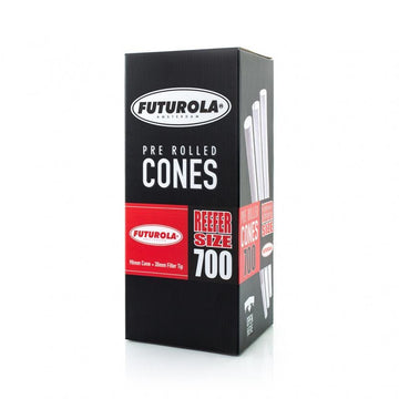 Futurola - Reefer Size Bulk Cones - 98mm Cone & 30mm Filter tip (700 count)
