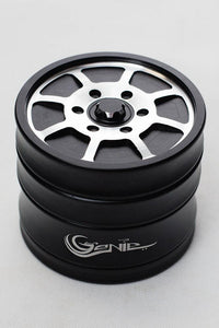 Genie 8 spoke rims aluminium grinder Flower Power Packages Black-4621