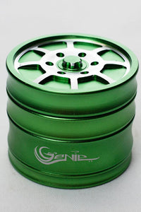 Genie 8 spoke rims aluminium grinder Flower Power Packages Green-4622