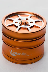 Genie 8 spoke rims aluminium grinder Flower Power Packages Orange-4624