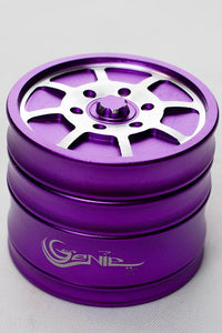 Genie 8 spoke rims aluminium grinder Flower Power Packages Purple-4625