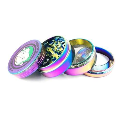 Green Monkey Herb Grinder Colorful Medium 55mm Flower Power Packages