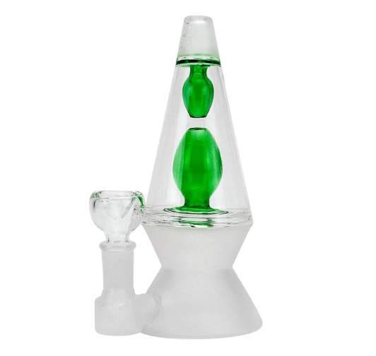70s Glass Bong at Flower Power Packages