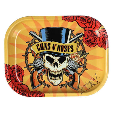 Guns N Roses - Roses Rolling Tray - Small Or Medium (1 Count)