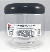 Hawaii Medical Cannabis Warning Labels at Flower Power Packages