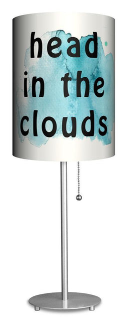 Head in the Clouds Cannabis Lamp with Shade
