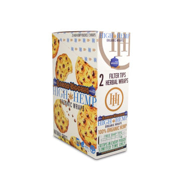 High Hemp Baked Kookies Wraps (25 Count)