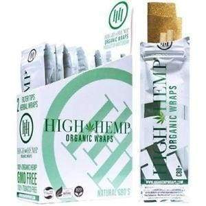 High Hemp Organic Wraps Vegan (25 Count)