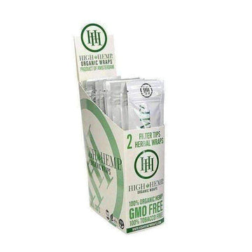 High Hemp Wraps 25 Count Box