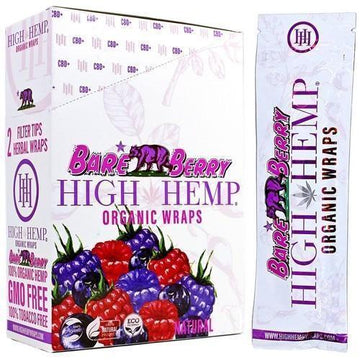High Hemp Wraps - Bare Berry
