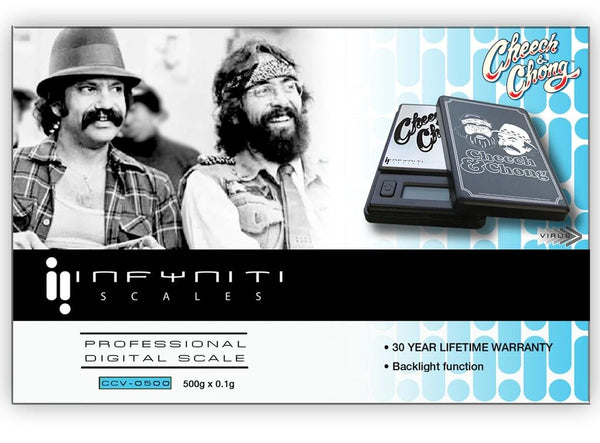 Infyniti Scales Cheech & Chong Virus Digital Scale 50g X 0.01g at Flower Power Packaes