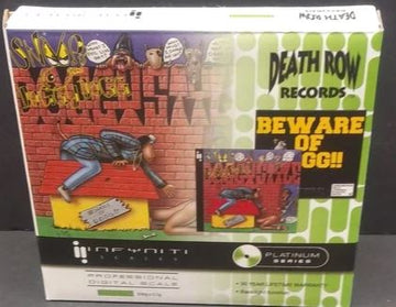 Infyniti Scales Death Row Records Doggy Style CD Digital Scale 100g X 0.01g