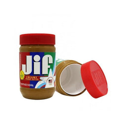 Jiffy Creamy Peanut Butter Safe Can