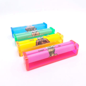 King Size (110mm) Lion Rolling Circus Cigarette Rolling Machine w/ Extra Mesh