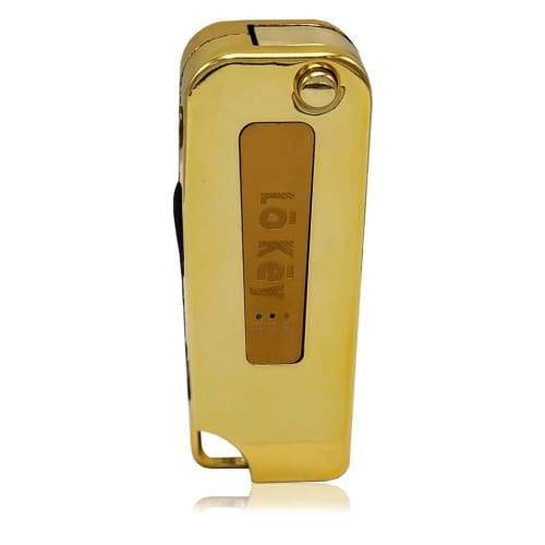 Lo Key Fob Vaporizer W Built In Charger 24k Gold 1 Count Flower Power Packages