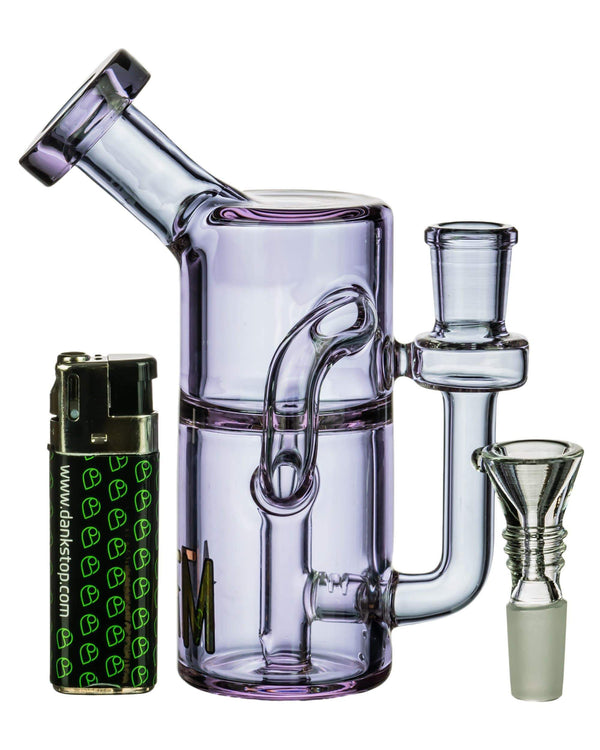 Mini Can Clear Glass Recycler at Flower Power Packages