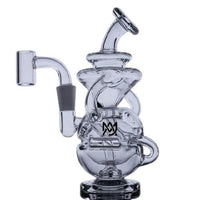 MJ Arsenal Infinity Mini Rig - 10mm Connection - Glass (1 Count) Flower Power Packages
