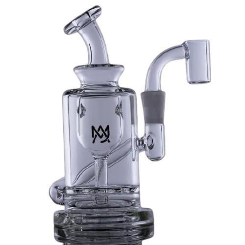MJ Arsenal Ursa Mini Dab Rig - 10mm Connection - Glass (1 Count) Flower Power Packages