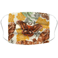 Moths & Marigolds Face Mask Cover Flower Power Packages