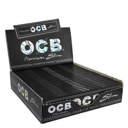 OCB Premium King Size Slim Papers - 50 leaves