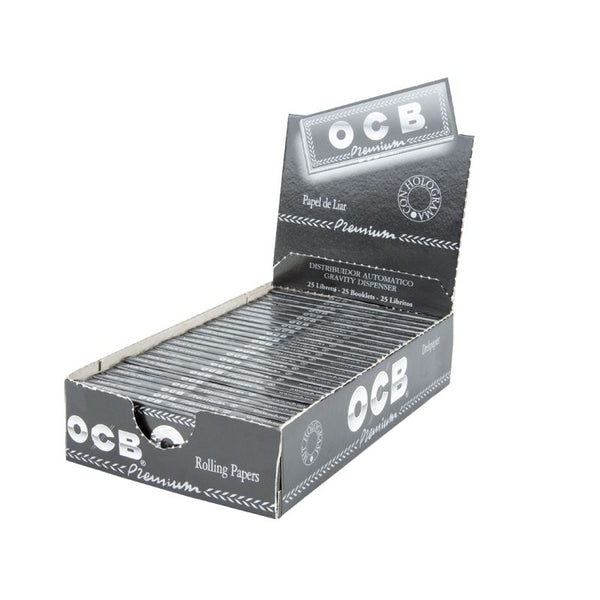 OCB Premium Rolling Papers 1.1/4 at FLower Power Packages