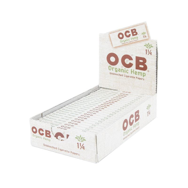 OCB Unbleached Organic Hemp 1.1/4 at Flower Power Packages