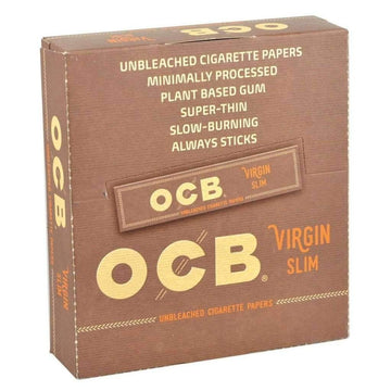 OCB Virgin Slim King Size Papers - 32 leaves