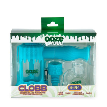OOZE Clobb Silicone Water Bubbler & Nectar Collector - Various Colors (1 Count)