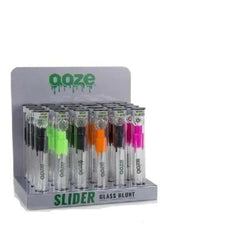OOZE-Slider Glass Blunt - 24ct Display