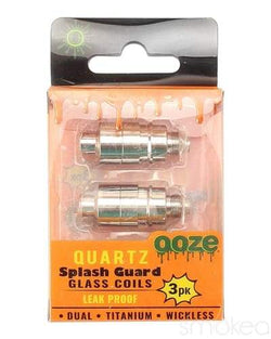 OOZE Titanium Splash Guard Coils 3 Pack
