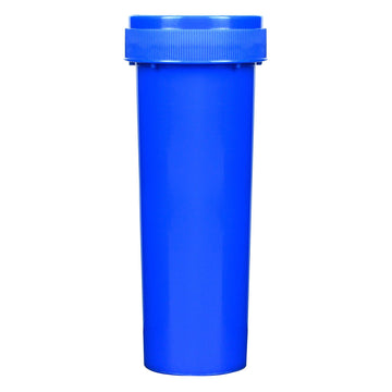 Opaque Blue 60 Dram Reversible Cap Vials 100 COUNT