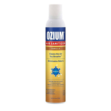 OZIUM Air Sanitizer Vanilla Scent Large 8oz (1 Count)
