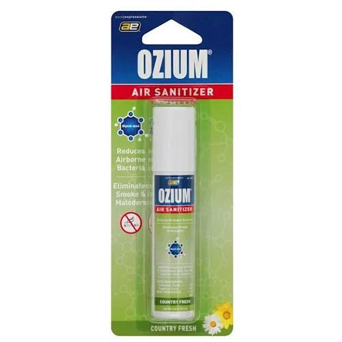 OZIUM Air Sanitizer Various Scents 0.8OZ (1 Count) Flower Power Packages Country Fresh