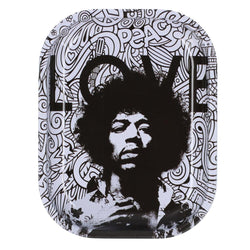 Rock Legends Jimi Love - Rolling Tray- Small Or Medium (1 Count)