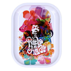 Rock Legends Jimi Purple Haze Pink Rainbow - Rolling Tray- Small Or Medium (1 Count)